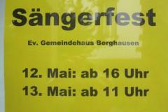 Fröhlich\'sches Sängerfest am 12. und 13. Mai 2012