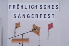 Fröhlich'sches Sängerfest am 26. Oktober 2014