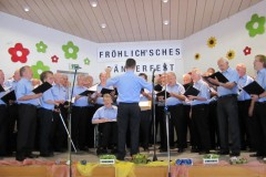 Fröhlich'sches Sängerfest am 8. September 2013
