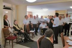 Kleines Konzert im Seniorenzentrum