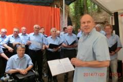 """Waldfest der Naturfreunde Berghausen und """"20 Jahre Haus Edelberg"""" - 20 Juli 2014"""