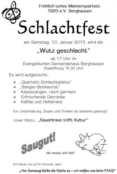 2015 schlachtfest